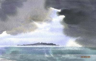 STORM OVER ISLE OF MAY