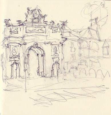 TRIUMPHAL ARCH TINTED PAPER
